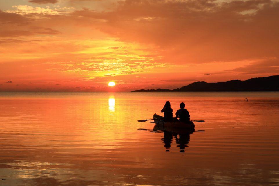 石垣島のサンセット(夕日)